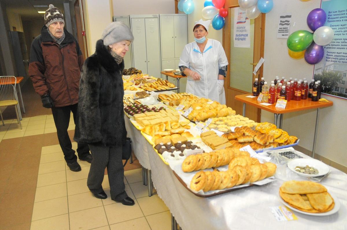 Еда на избирательных участках: чем можно перекусить в день выборов президента России (ФОТО) 4