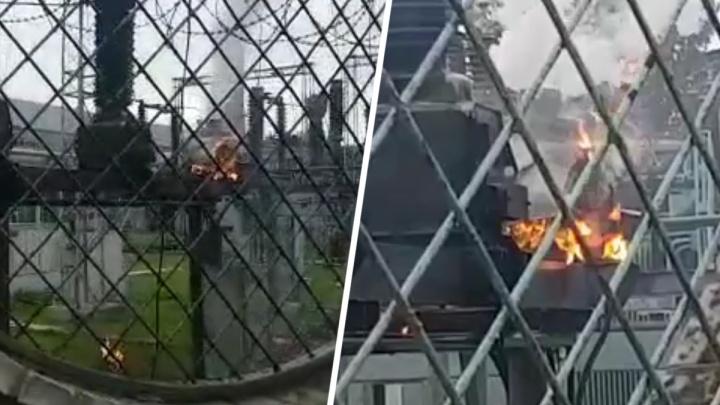 На заводе «Тагмет» произошел взрыв на подстанции