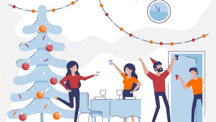 Некогда скучать: необычные способы встретить Новый год дома