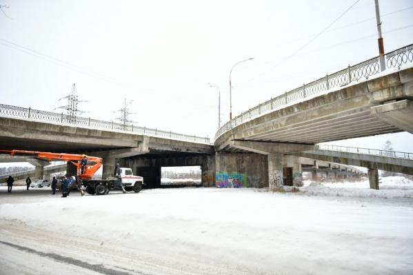 Путепровод будут ремонтировать два года
