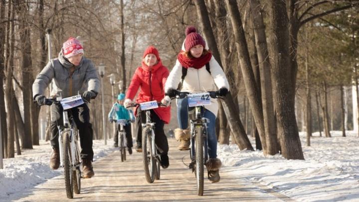 В Уфе прошел самый романтичный велопраздник