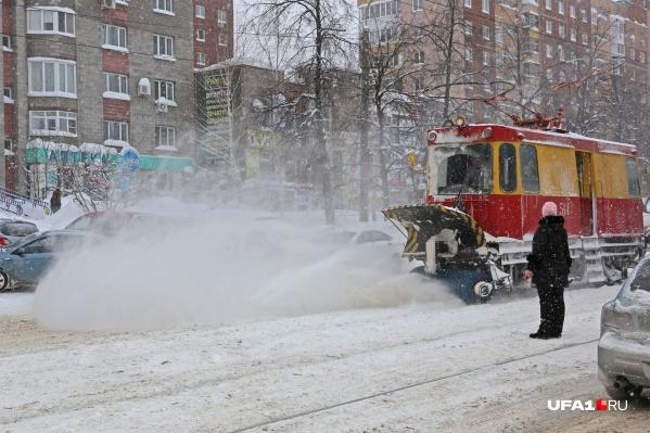 В Башкирии снега — на две зимы вперед