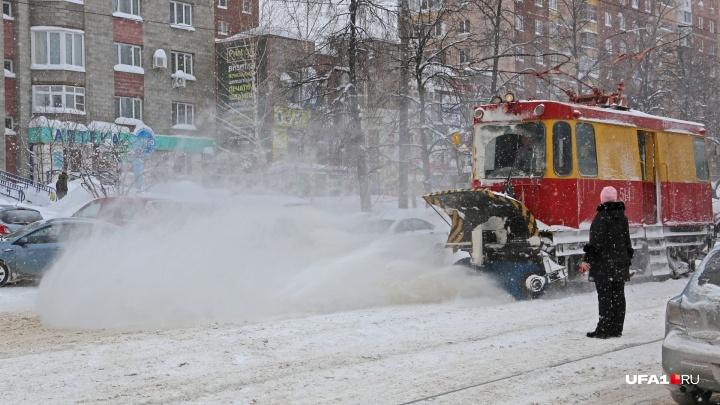 Треть Кандрыкуля: что будет с Уфой, если растопить весь «городской» снег
