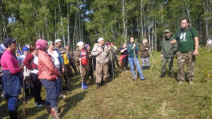 «Местность в два раза хуже, чем была у Коли Бархатова»: волонтёры ищут в болотах 68-летнюю омичку
