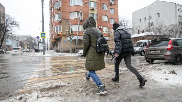 Опять зима: в Ростове резко испортится погода