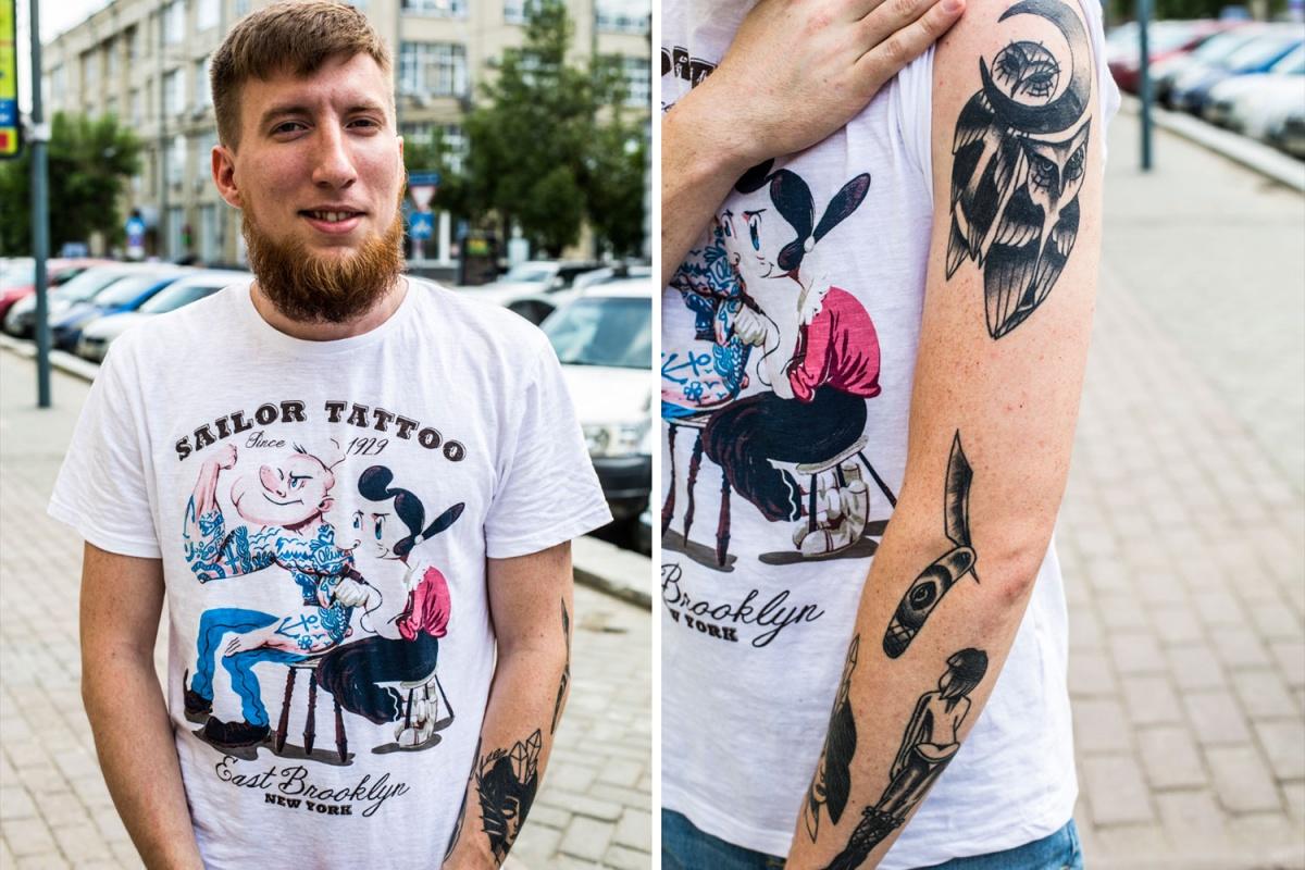 «Ещё одна татуировка — лишу тебя наследства» (фото)