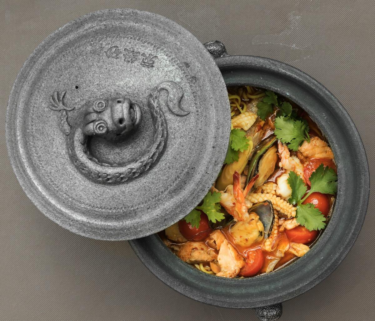 «Пананг карри» с морепродуктами