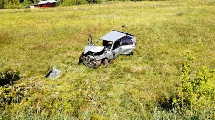 Раскурочило весь кузов: пенсионер-лихач на «девятке» погиб в ДТП в Борском районе