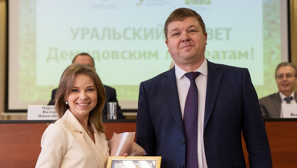 За свое исследование Анастасия получила губернаторскую премию