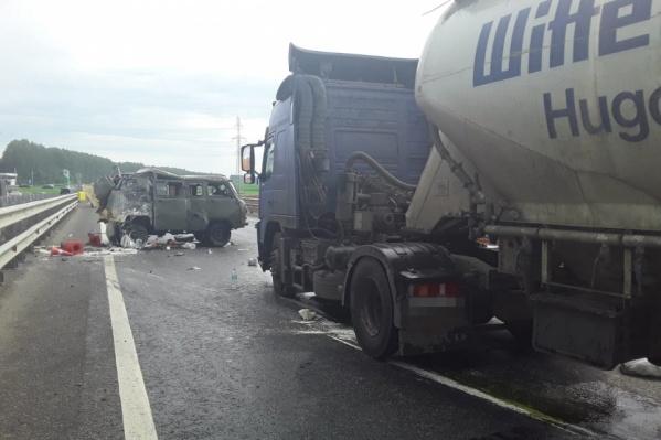 Авария с грузовиком произошла в июле этого года