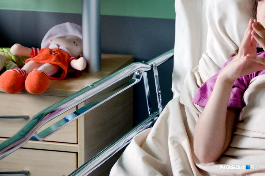 ВКрасноярском крае дома скончался 2-летний ребенок отпневмонии