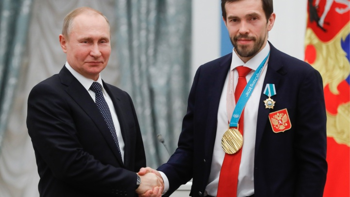 Сначала ордена — потом BMW: Владимир Путин встретился с олимпийцами в Кремле