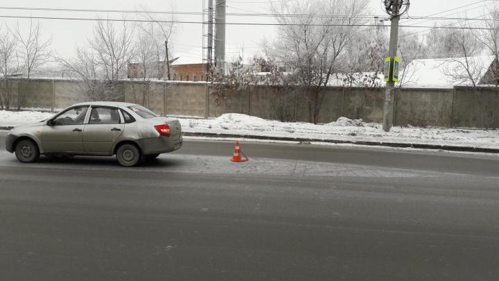 В Самаре водитель «Гранты» сбил двоих детей на пешеходном переходе
