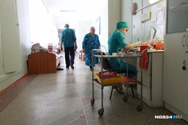 Ребенок находится в больнице Норильска