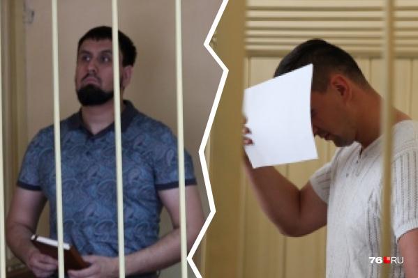 Сардор Зиябов (слева) и Дмитрий Никитенко теперь сами оказались за решеткой