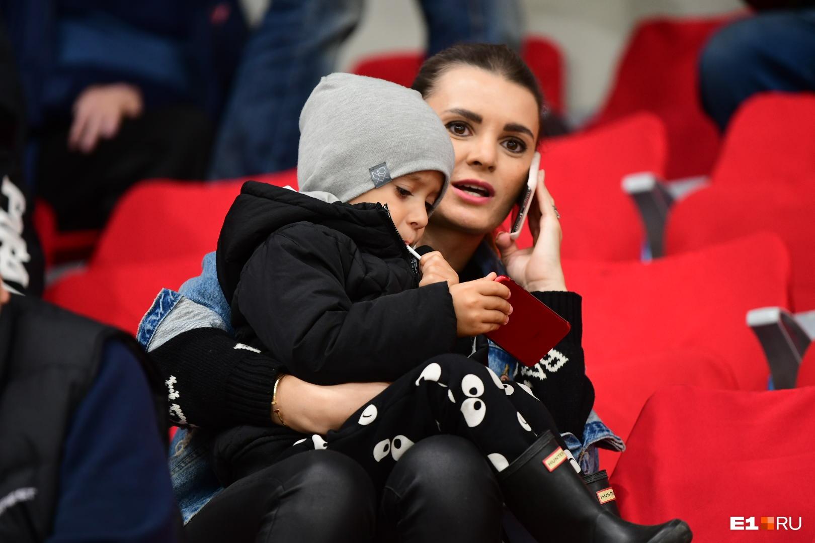 Когда семья Якуба в Екатеринбурге, они ходят на все матчи