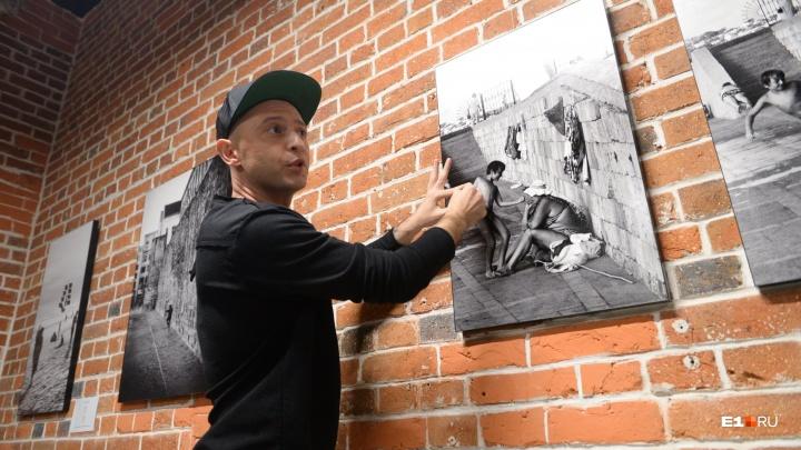 Снимал, пока никто не видит: гуляем с Ромой Зверем по выставке его плёночных фотографий