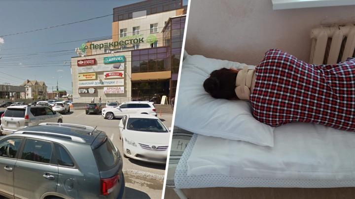 «Дверь рухнула на голову»: женщина попала в больницу после ЧП в самарском «Перекрестке»