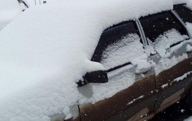 В Башкирии за ночь выпала дневная норма снега
