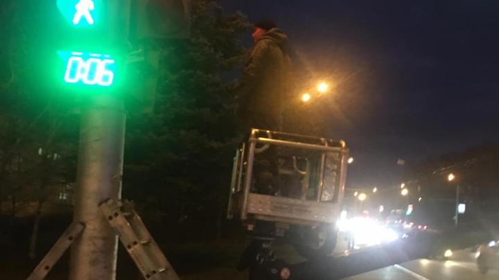 Падают деревья и ломаются светофоры: смотрите, что натворил ураган в Уфе