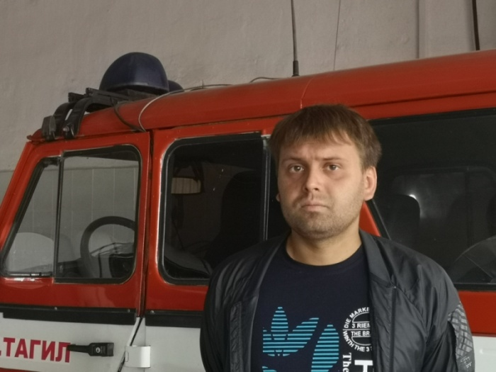 Антон Шмаков спас ребенка из пожара