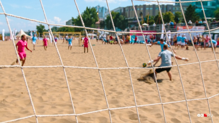 На набережной Самары пройдет Суперфинал чемпионата России по пляжному футболу