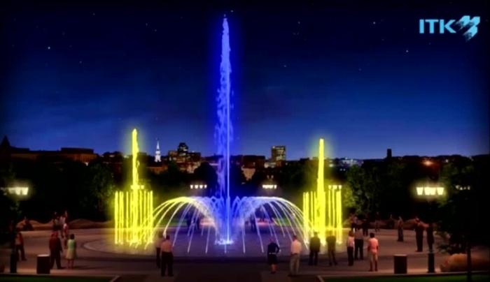 Фонтан в Центральном парке планируют поставить в следующем году