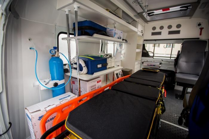Современный мобильный госпиталь поступит в воинские части Новосибирска до конца года