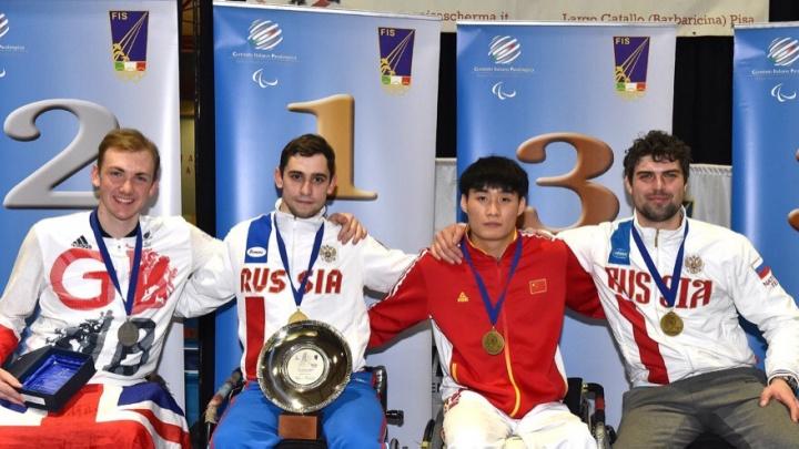 Новосибирский фехтовальщик на коляске выиграл две медали этапа Кубка мира