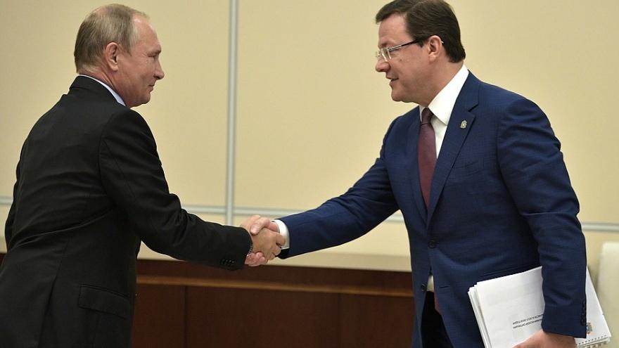 Вслед за Титовым: губернатор Самарской области стал кавалером ордена Дружбы