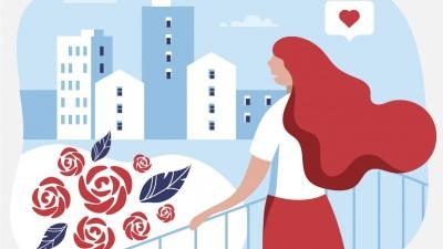 Миллион алых роз: стоимость жилья в пересчете на цветы