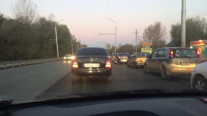 Транспортный коллапс: из-за ремонта дорог парализована северная часть Уфы