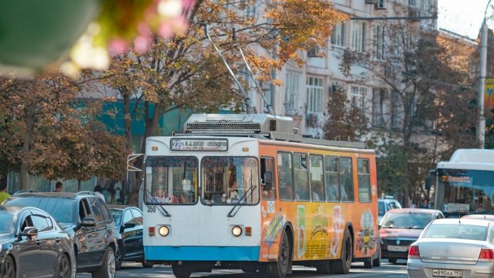В Ростове перестанут работать два маршрута троллейбусов из-за аварии на кабеле