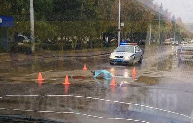 Пазик в Уфе сбил насмерть пешехода