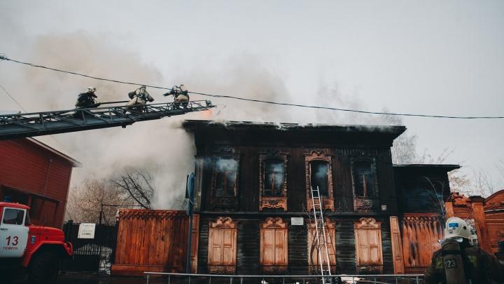В Тюмени не нашлось ни одной фирмы, готовой взяться за реставрацию сгоревшей мастерской Шитова