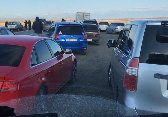 Под Новосибирском силовики перекрыли дорогу из-за угрозы минирования моста