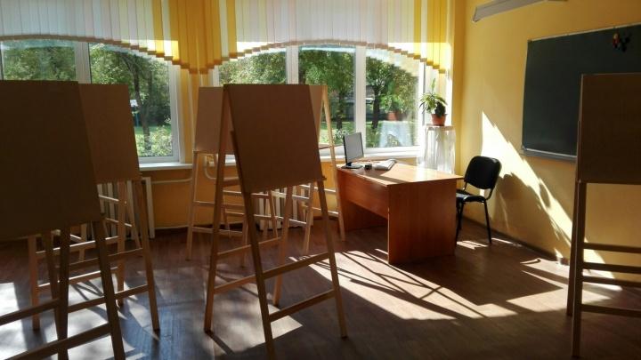 На Матросова открыли первый в Красноярске класс для подготовки будущих художников и архитекторов