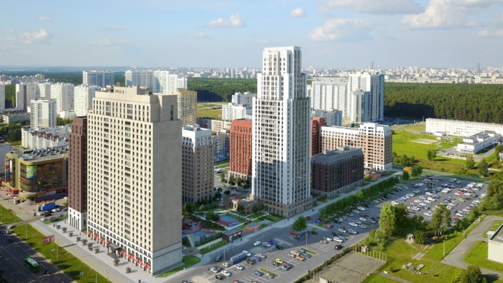 Террасы размером с квартиру и потолки под 3 м: в городе появится башня с уникальными планировками