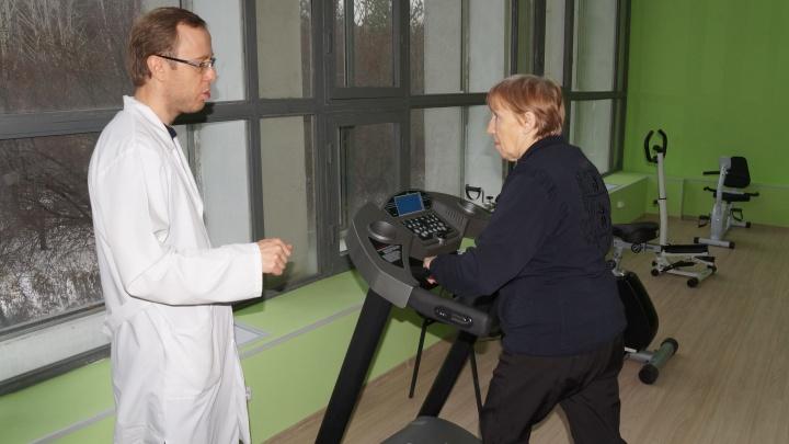 В екатеринбургской больнице вместо оранжереи открыли спортзал