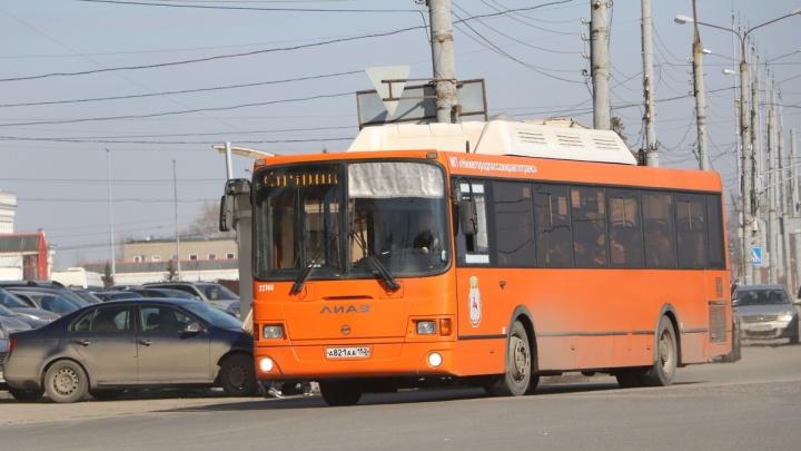 Автобусы в Московском районе изменили маршрут до конца лета