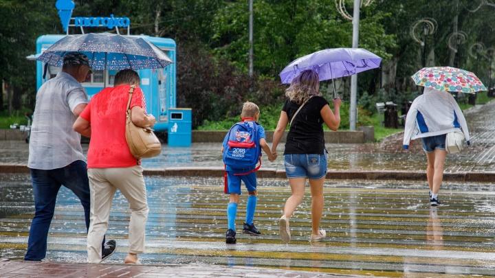 Ночью на Волгоград вновь обрушится сильный ливень