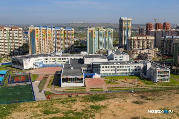 Новая школа в Покровском