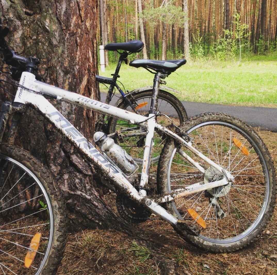 Так выглядит украденный велосипед (правда, на момент кражи он был чище)