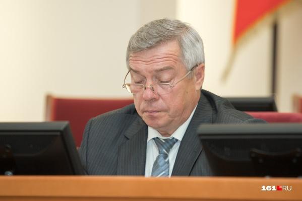 Василий Голубев опровергалслухи о своей отставке