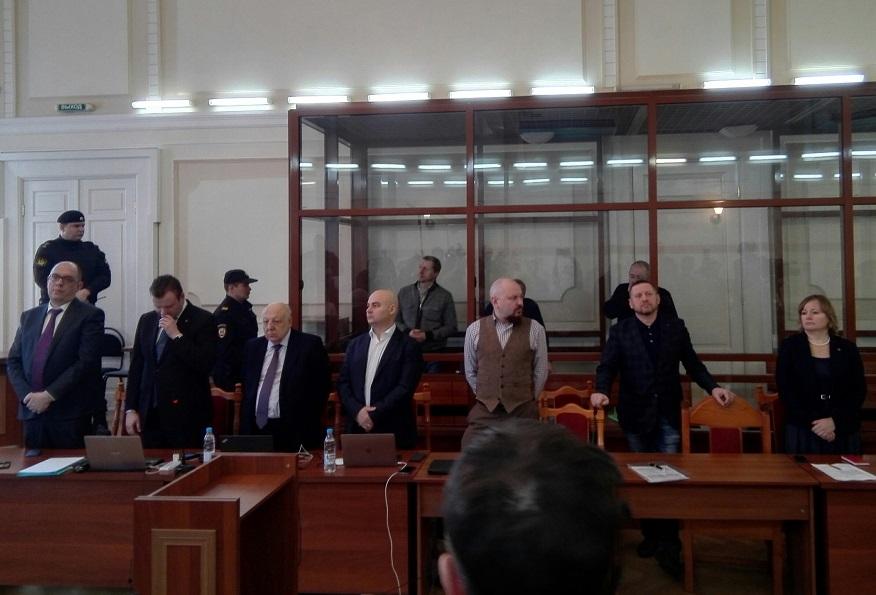 В суде Нижегородского района сегодня было особенно людно