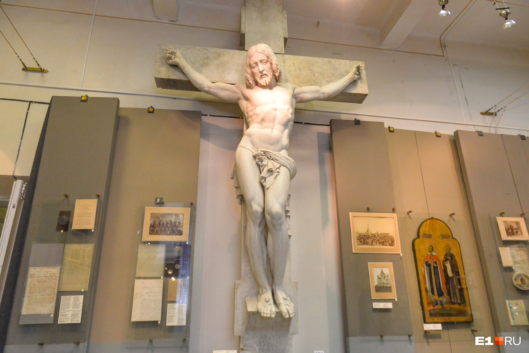 Джеймс Прадье изваял фигуру Христа для захоронения Павла Демидова
