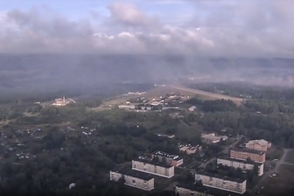 Ачинский район после взрывов 5 августа