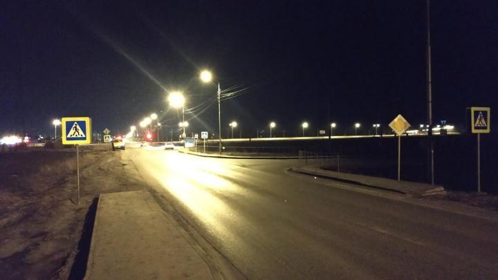 В Тюмени ищут водителя иномарки, сбившего пешехода на Воронинских горках