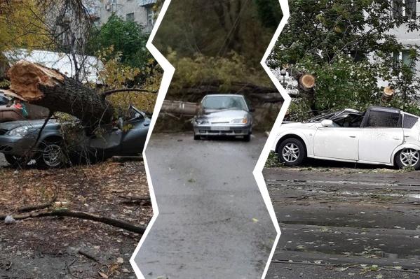 Вот какими были последствия сильного ветра в Самаре