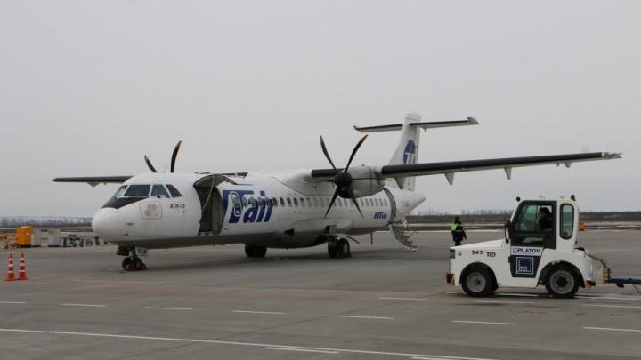 Самолет, летевший в Ростов из Сургута, экстренно приземлился в Уфе